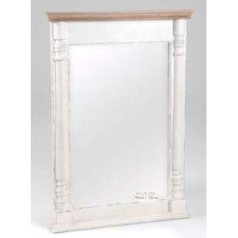 Specchio shabby provenzale in legno per arredamento country cottage - Specchio shabby chic ...