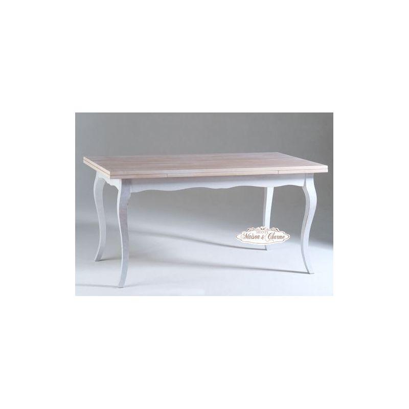 Tavolo rettangolare roma d shabby chic tavoli for Tavolo stile shabby