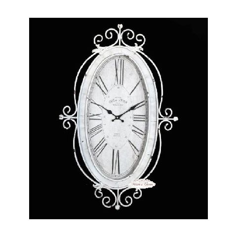 Orologio roma 3 country orologi shabby chic for Orologio shabby chic