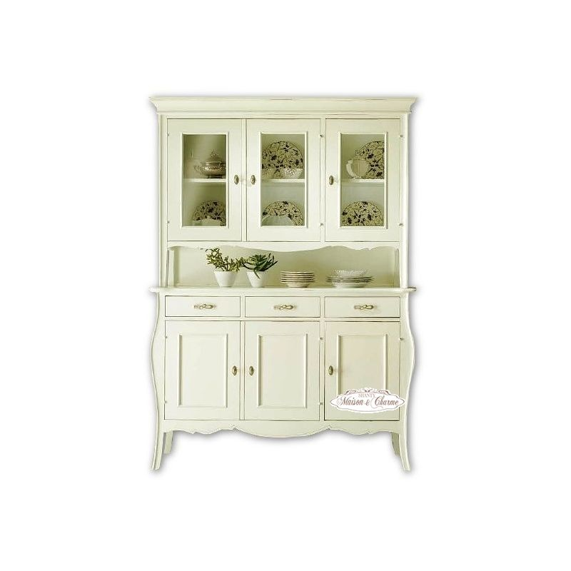 Credenza paris 2 country credenze buffet shabby chic for Credenza shabby chic online