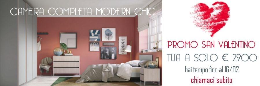promozione camera da letto completa shabby modern chic