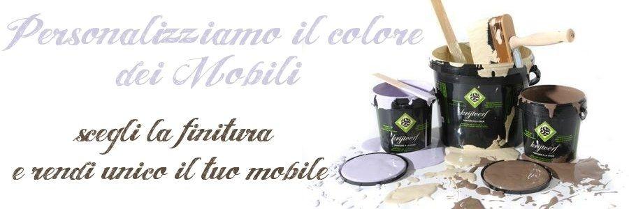 Mobili Shabby Colori Personalizzati