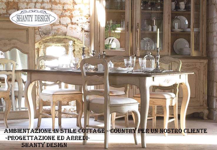 Arredamento e mobili in stile country shanty design for Nuovo stile cottage in inghilterra