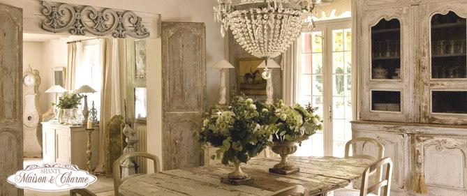 Arredamento e mobili in stile country shanty design - Arredamento casa country chic ...
