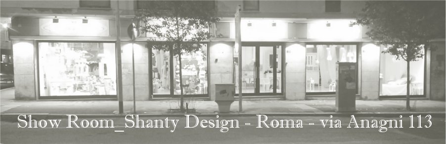 Negozio arredamento shabby chic roma shanty design for Showroom arredamento roma