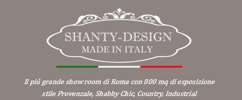 800 mq di esposizione a Roma di mobili ed arredamento in stile provenzale shabby chic industrial vintage